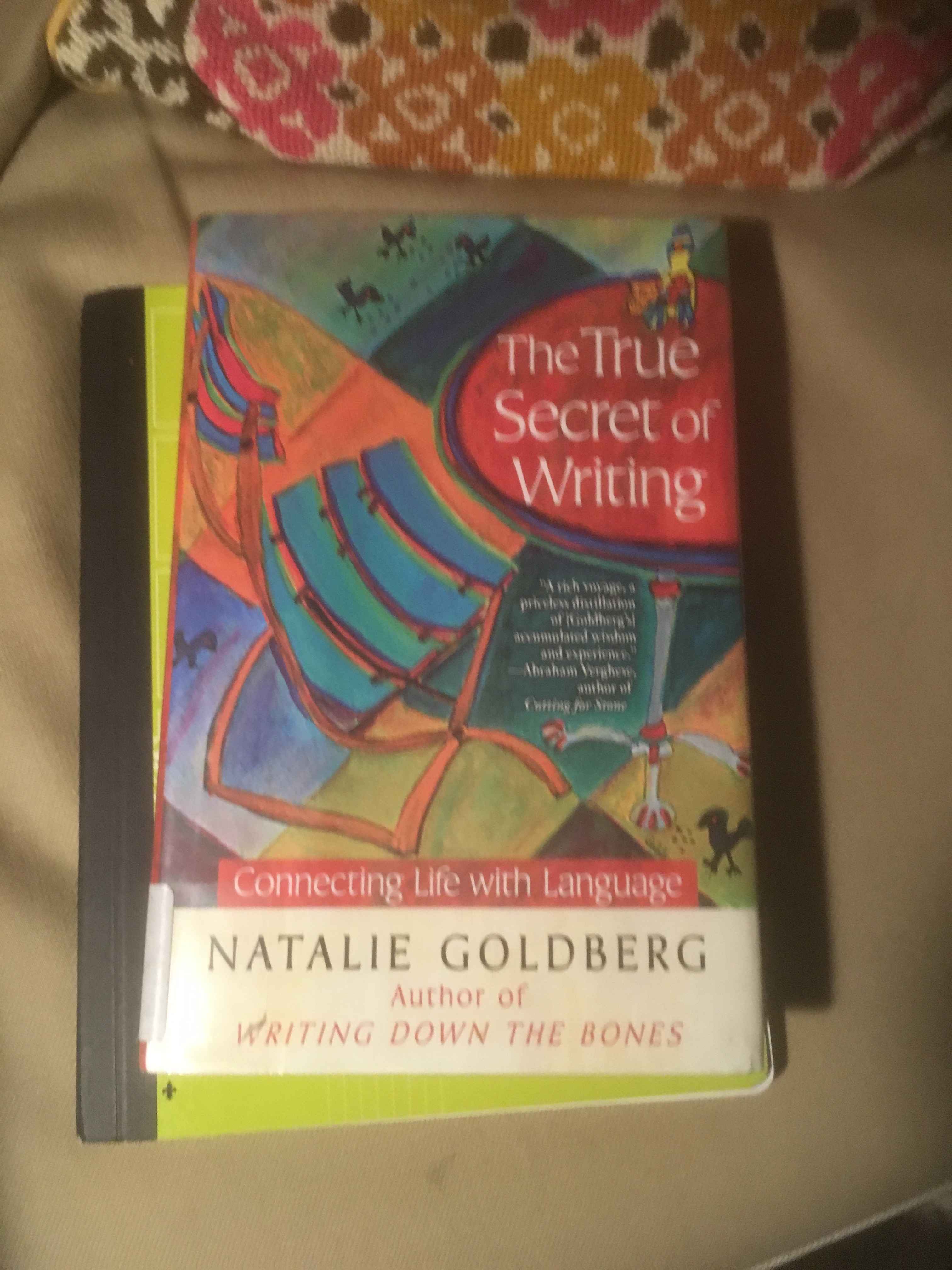 the true secret of writing goldberg natalie